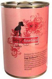 Dogz Finefood N.02 Wołowina puszka 400g