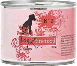 Dogz Finefood N.02 Wołowina puszka 200g