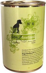 Dogz Finefood N.04 Kurczak i bażant puszka 400g