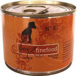 Dogz Finefood N.08 Indyk i koza puszka 200g