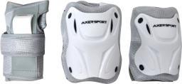 Axer Komplet ochraniaczy szaro-białe r. L (A20784-L)
