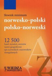 Słownik minimum norwesko - polski, polsko - norweski