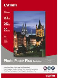 Canon papier Photo Plus Semi-glossy SG201 A6 (1686B015AA) 50 ark