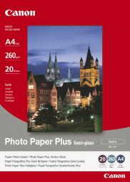 Canon Papier Photo Plus Semi-glossy SG201 A4 (1686B021AA) półbłyszczący |20 ark
