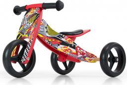 Milly Mally Rowerek biegowy Jake cars 2 w 1 czerwony (13610)