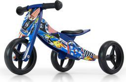 Milly Mally Rowerek biegowy Jake blue cars 2 w 1 niebieski (13608)