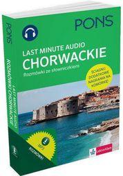 Last Minute audio. Chorwackie rozmówki PONS (155213)