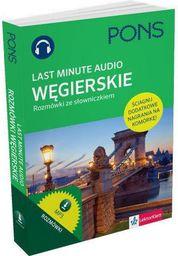 Last Minute audio. Węgierskie rozmówki PONS (155206)