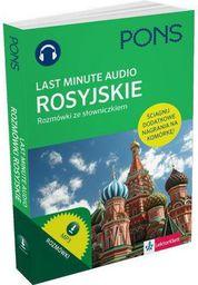 Last Minute audio. Rosyjskie rozmówki PONS (155207)