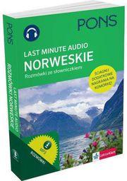 Last Minute audio. Norweskie rozmówki PONS (155208)