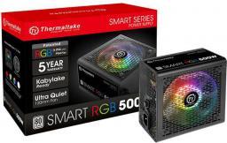 Zasilacz Thermaltake Thermaltake Smart 500W RGB (PS-SPR-0500NHSAWE-1)