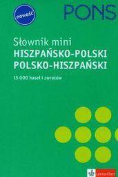 Słownik mini hiszpańsko - polski, polsko - hiszpański