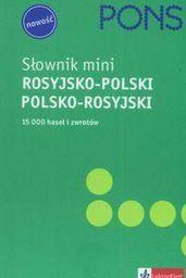 Słownik mini rosyjsko - polski, polsko - rosyjski PONS
