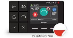 Nawigacja GPS NavRoad YANOSIK GTR ASYSTENT KIEROWCY