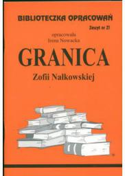 Biblioteczka opracowań nr 021 Granica