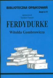 Biblioteczka opracowań nr 011 Ferdydurke (3631)
