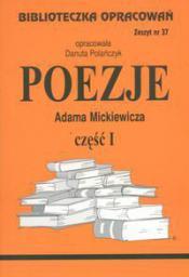 Biblioteczka opracowań nr 037 Poezje cz.1