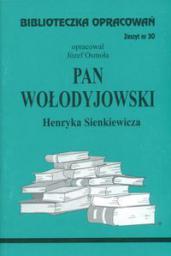 Biblioteczka opracowań nr 030 Pan Wołodyjowski
