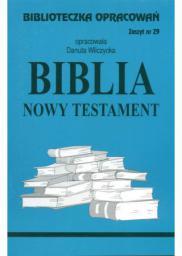 Biblioteczka opracowań nr 029 Biblia Nowy Testament`