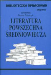 Biblioteczka opracowań nr 061 Literatura Średniowieczna