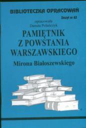 Biblioteczka opracowań nr 063 Pamiętnik z Powstania Warszawskiego