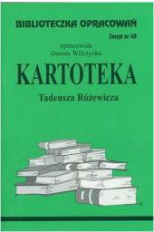 Biblioteczka opracowań nr 049 Kartoteka