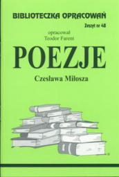 Biblioteczka opracowań nr 048 Poezje Miłosza
