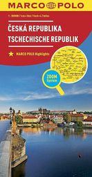 Mapa ZOOM System. Czechy 1:300 000