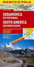 Mapa Drogowa Ameryka Południowa Część południowa