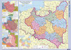 Historia Polski. Szkolna mapa ścienna dwustronna