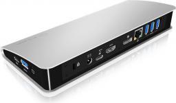 Stacja/replikator Icy Box Replikator  HDMI, DVI, USB3.0 (IB-DK2403-C)