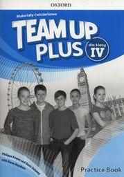 Team up plus dla klasy IV. Materiały ćwiczeniowe (248216)