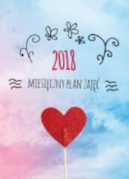 AVANTI Kalendarz 2018 Miesięczny Plan Zajęć MPZ (248672)