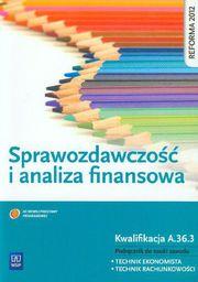 Sprawozdawczość i analiza finansowa