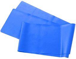 EB FIT taśma fitness 35 mm niebieska