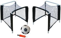 Victoria Sport Zestaw 2 bramek plażowych, piłka, pompka 25x25x38cm