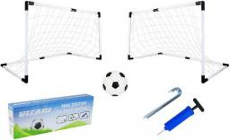 Victoria Sport Zestaw mini bramek do piłki nożnej 4w1, biały