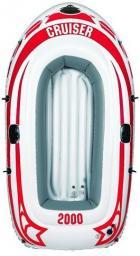 JiLong Ponton Cruiser CB2000 218x110x36 cm biało-czerwony (JL007008-3N)