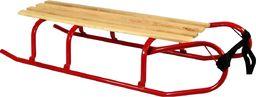Victoria Sport Sanki metalowe Andy ze sznurkiem czerwone