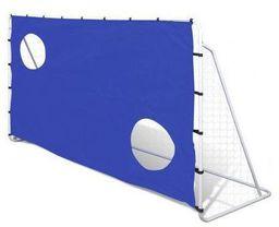 ENERO  Bramka do piłki nożnej  z siatką i tarczą strzelecką (215x152x76cm)