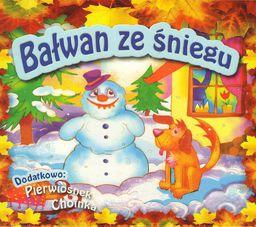 Bałwan ze śniegu Pierwiosnek Choinka