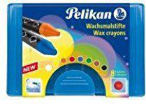 Pelikan Kredki świecowe akwarelowe 8 kolorów (214683)