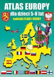 Atlas Europy dla dzieci 5-8 lat  (188622)
