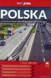 Atlas drogowy - Polska mini 1:800 000 EuroPilot