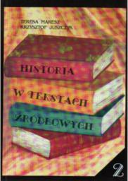 Historia w tekstach źródłowych T.2