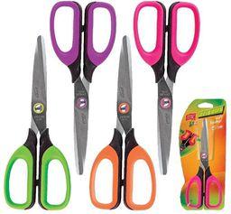 Easy Nożyczki szkolne 15 cm fioletowe EASY (234015)