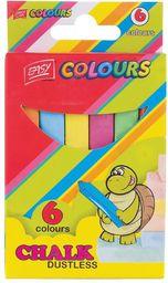 Easy Kreda szkolna, 6 kolorów (235438)
