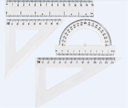 Grand Zestaw geometryczny transparent GR-031T GRAND - 197822