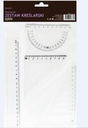 Grand Zestaw geometryczny transparent GR-032T (197820)