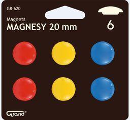 Grand Magnesy 20mm 6 sztuk blister - 192691
